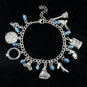 Disney Cinderella Charm Bracelet NEW